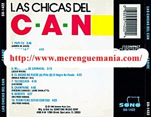 Merenguemania Las Chicas Del Can Caribe 1988
