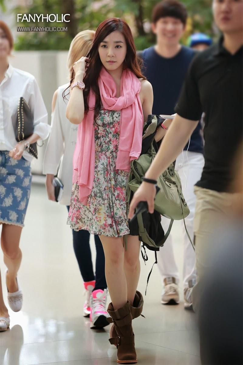 Snsd airport fashion 2014