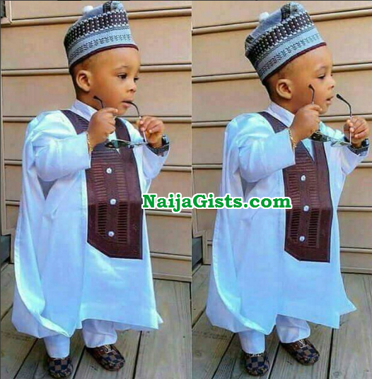 3 year old nigerian designer