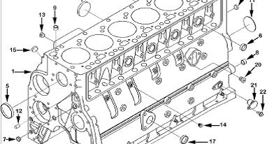 MOTORES CUMMINS : Manual de Partes
