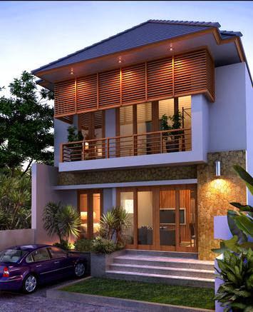 desain rumah minimalis modern 2 lantai ukuran 6x15 - home