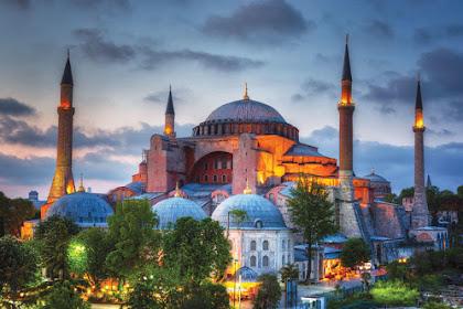 Recep Tayyip Erdoğan Akan Merubah Hagia Sophia Menjadi Masjid