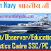 INDIAN NAVY RECRUITMENT 2019 FOR 53 SSC & PC OFFICERS POSTS