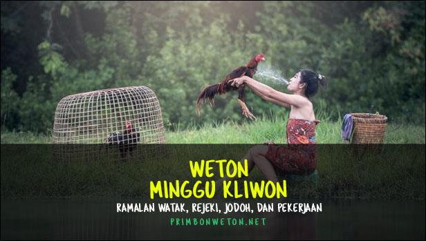 weton Minggu Kliwon