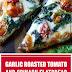 Garlic Roasted Tomato and Spinach Flatbread