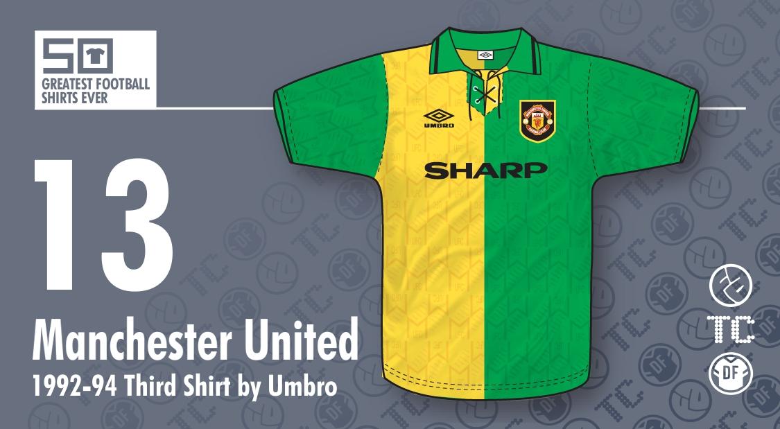 a9451394e84 50GFSE   13 - Manchester United 1992-94 Third Shirt by Umbro ~ The ...