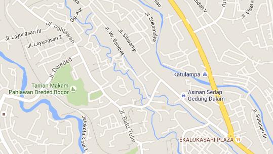 Lokasi Asinan Gedung Dalam Bogor