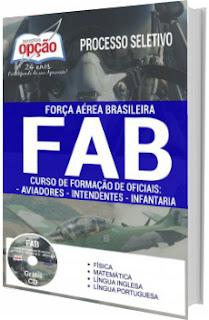 Apostila Concurso Aeronáutica FAB 2017 CFO