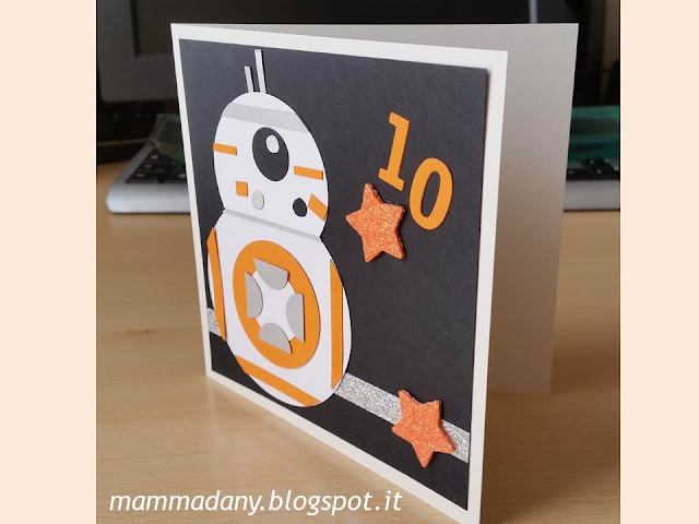 realizzare una card di star wars
