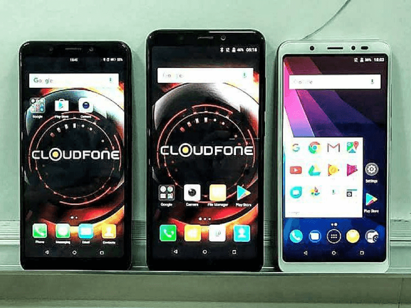 Cloudfone Teases More Smartphones With 18:9 Screen Ratio
