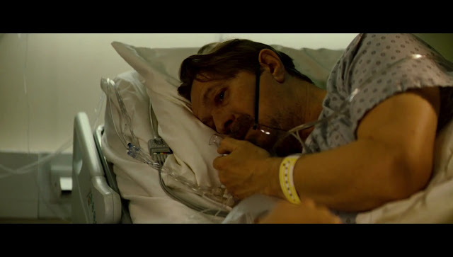 The Dark Knight Rises Gary Oldman Commisioner Gordon in Hospital