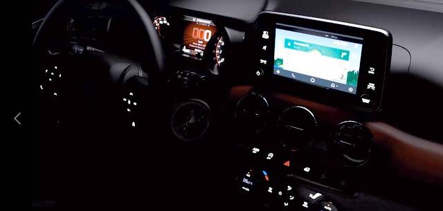 Novo Fiat Argo 2018 - interior