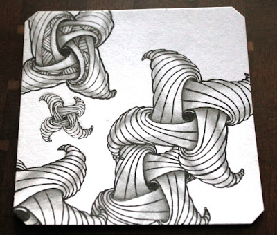 Trelina Zentangle Shaded