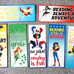 DC Superhero Girls Bookmarks