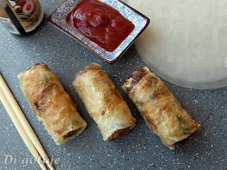 Sajgonki (z mięsem mielonym i warzywami)