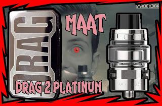 Voopoo MAAT tank y Drag 2 Platinum