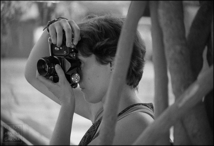 fotografia, retrato, maria, camara, fotografiando, ramas