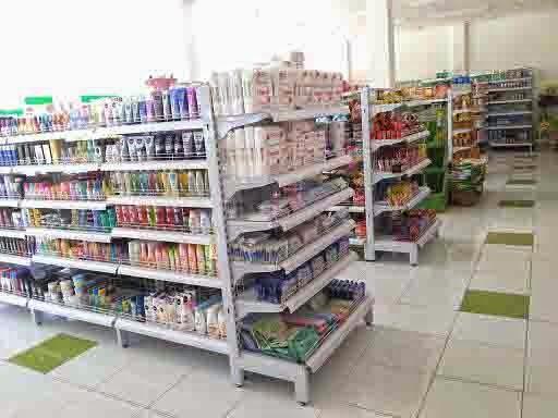 Rak Supermarket Double + End Gondola