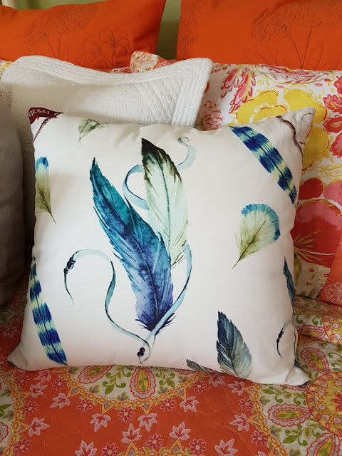 Brunelli cotton bedding at the Camellia
