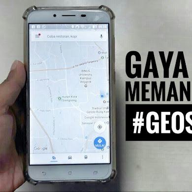 Memanfaatkan Geospasial untuk Menunjang Gaya Hidup