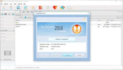 Exeone Archiver Lengkap Key Terbaru 2014 Final Version