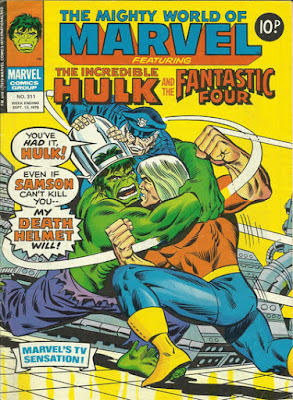 Mighty World of Marvel #311, Doc Samson and the Death Helmet