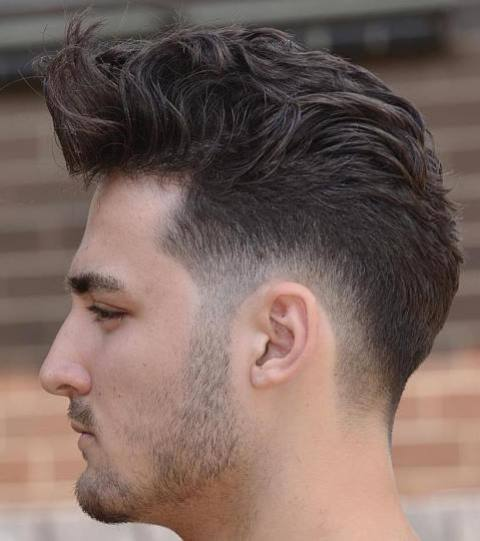 Potongan Rambut Pria Samping Belakang Tipis 3