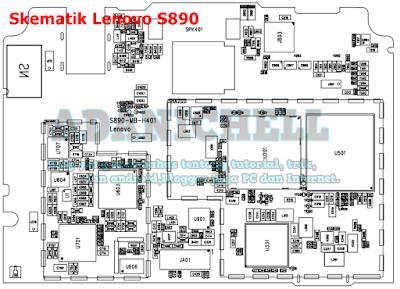 Skematik Lenovo S890
