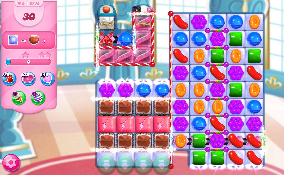 Candy Crush Saga level 6746