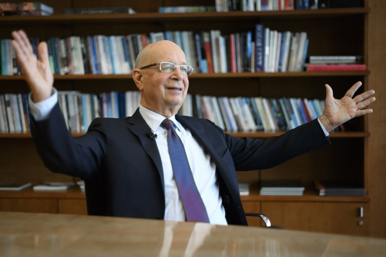 "Founder and Executive Chairman of the World Economic Forum Klaus Schwab said rapid shifts in technology, economies and social structures have fuelled ""a certain anxiety"""