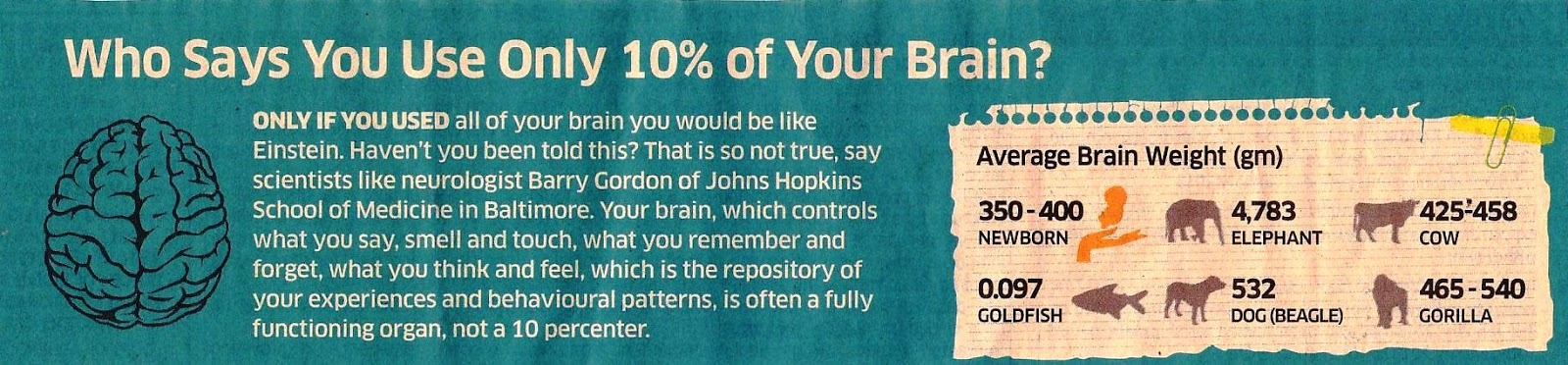 Thane Jain Yuva Group: Do we really use 10% of brain?