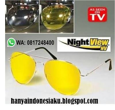 kacamata anti silau, kacamata berkendara, kacamata biker, Kacamata Night Vision, Night View Glasses, aksesoris motor, perlengkapan touring