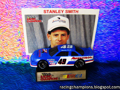 Stanley Smith #49 Racing Champions 1/64 NASCAR die-cast blog