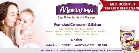 Momma Formulasi Susu Kambing Terbaik - 12 bahan terbaik Ibu Hamil Menyusu
