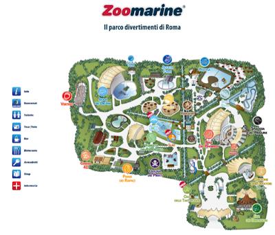 Mappa Zoomarine 2016