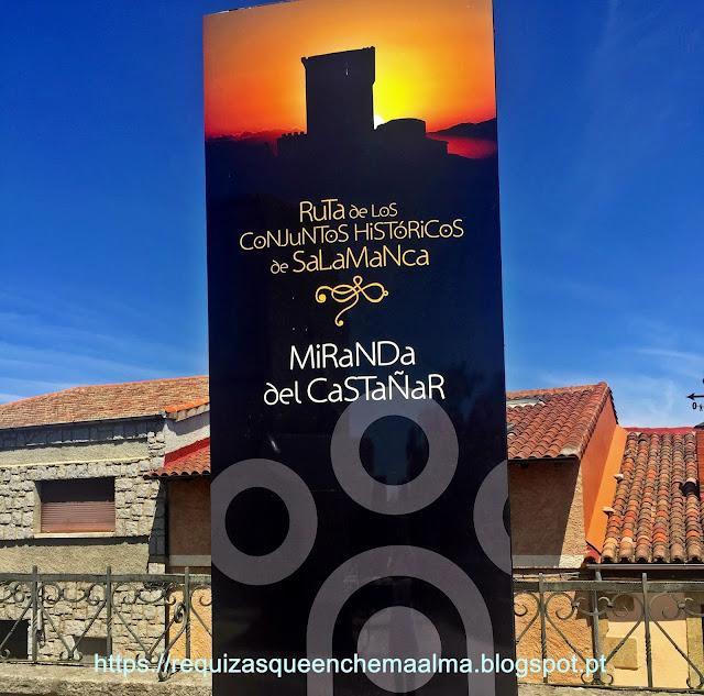 Miranda Del Castañar Salamanca Sierra de Francia