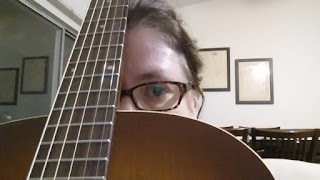 a picture of me with my guitar