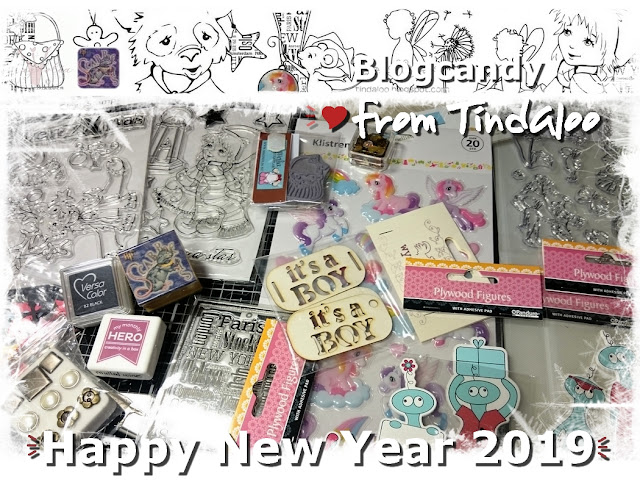 Happy New Years ♥ BlogCandy!