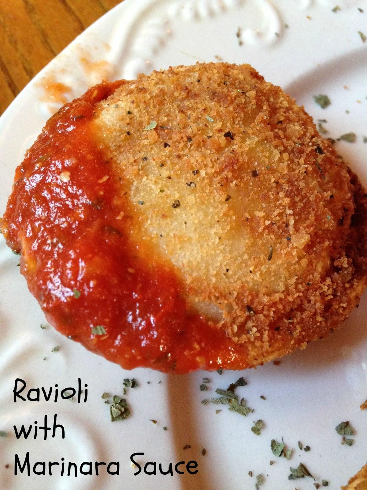 Toasted Ravioli with Marinara Sauce | Turnips 2 Tangerines