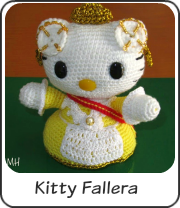 Amigurumi Hello Kitty fallera
