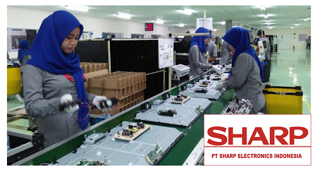 Lowongan Kerja SMA SMK D3 S1 PT. Sharp Electronics Indonesia, Jobs: Administration, Stock Keeper, Key Account Executive, MIS Staff.