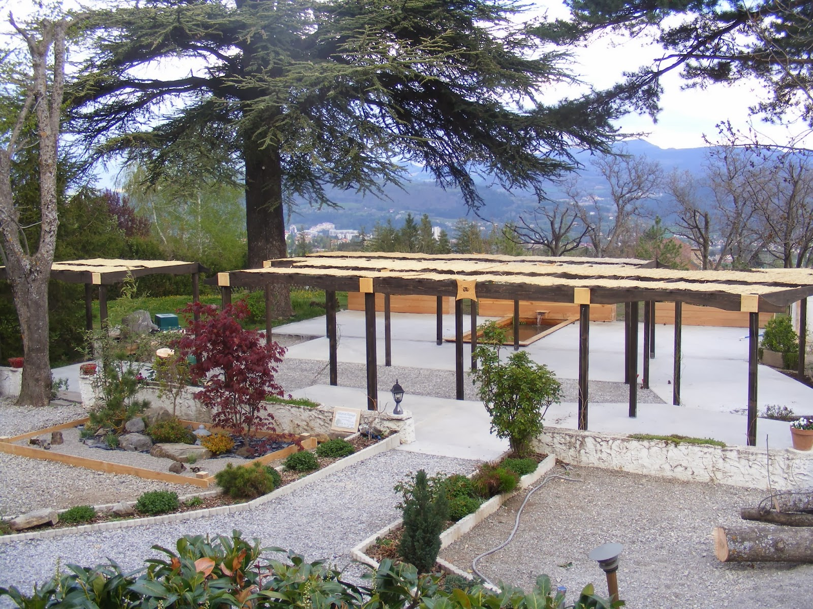 Nature Et Paysage Terrasses Et Pergolas