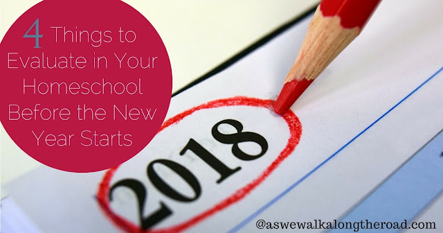 Four areas of homeschooling to evaluate before the new year