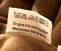 or give it to your mother