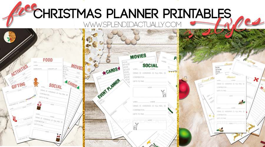 photo about Free Christmas Planner Printables titled splendid truly: Xmas Creating: Pointers + Absolutely free Printables!