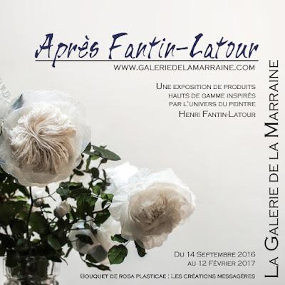 """Exposition """"Après Fantin-Latour"""", des objets dérivés haut de gamme autour de l'univers du peintre."""