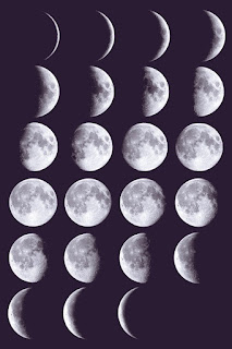 proses bulan mati sampai menjadi bulan penuh