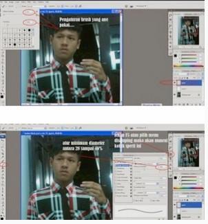 Cara Edit Foto Jadi Anime Di Photoshop