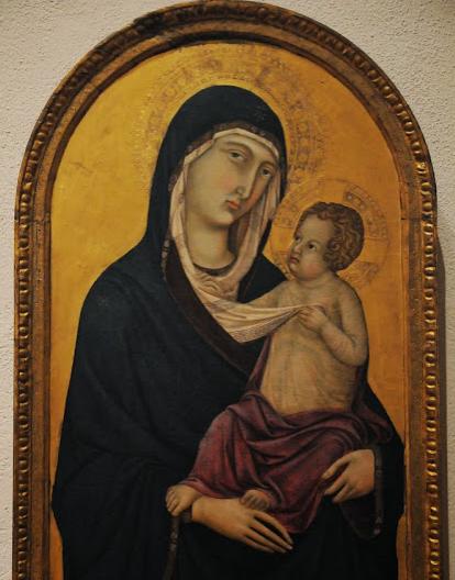Terungkap! Ternyata Di Lukisan Bunda Maria Yang Asli Tertulis Kalimat Tauhid Di Hijabnya