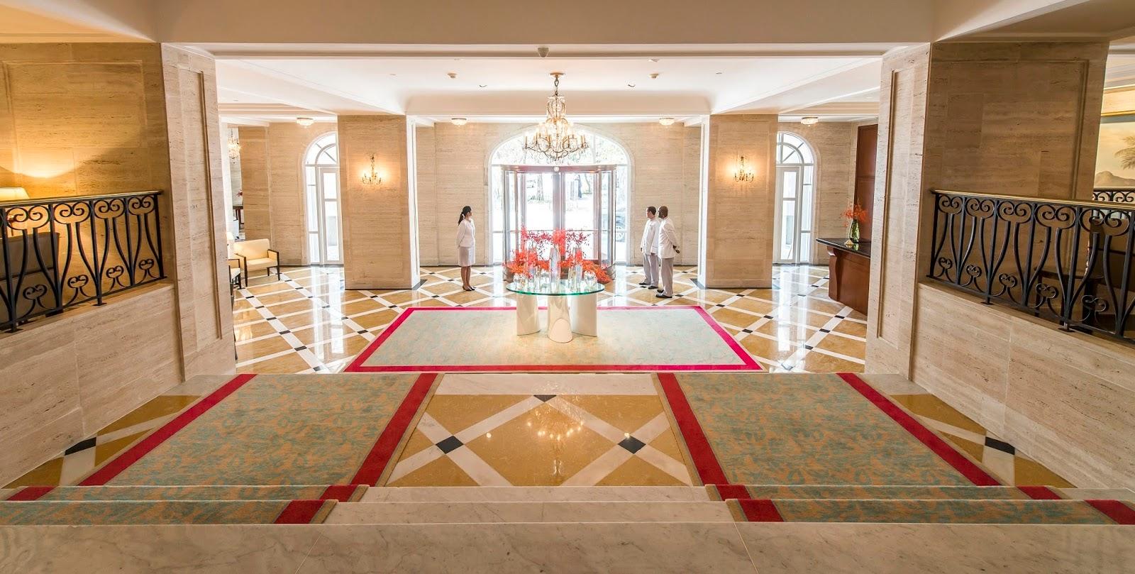 Lobby Copacabana Palace